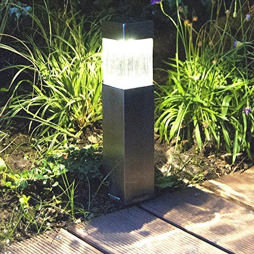 Charmant (Sogrand Solar Lights Outdoor,2pcs Pack Satinless Steel,Solar Light ,Landscape