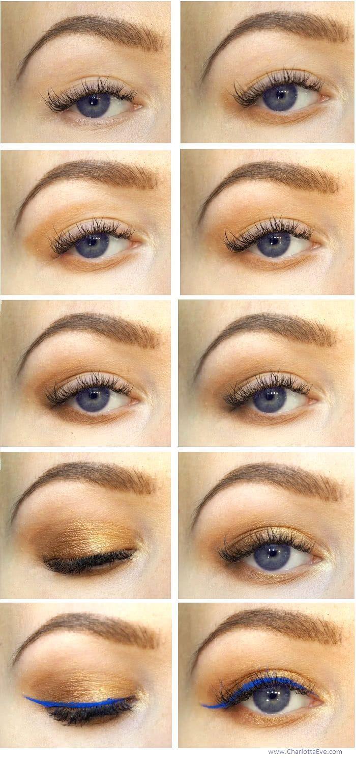 makeup for blue eyes | tutorial #makeup #tutorial #pictorial