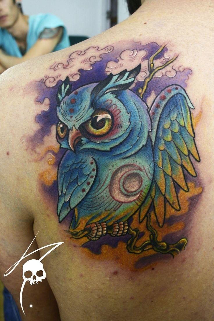 cute owl owl babies guy tattoos great grey owl cute owl ...