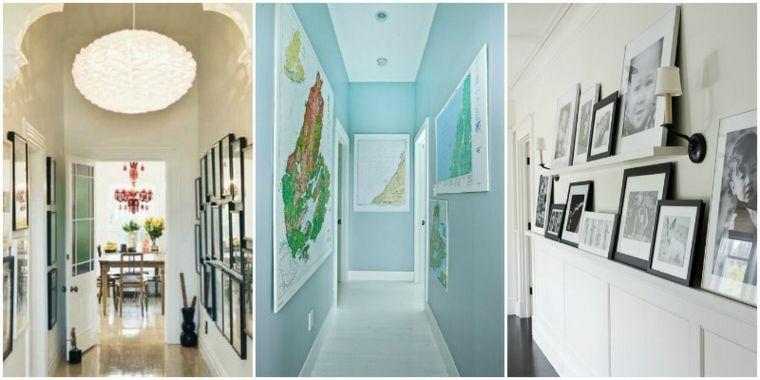 Decorar pasillos estrechos con diferentes ideas y estilos - Decorar pasillos estrechos ...