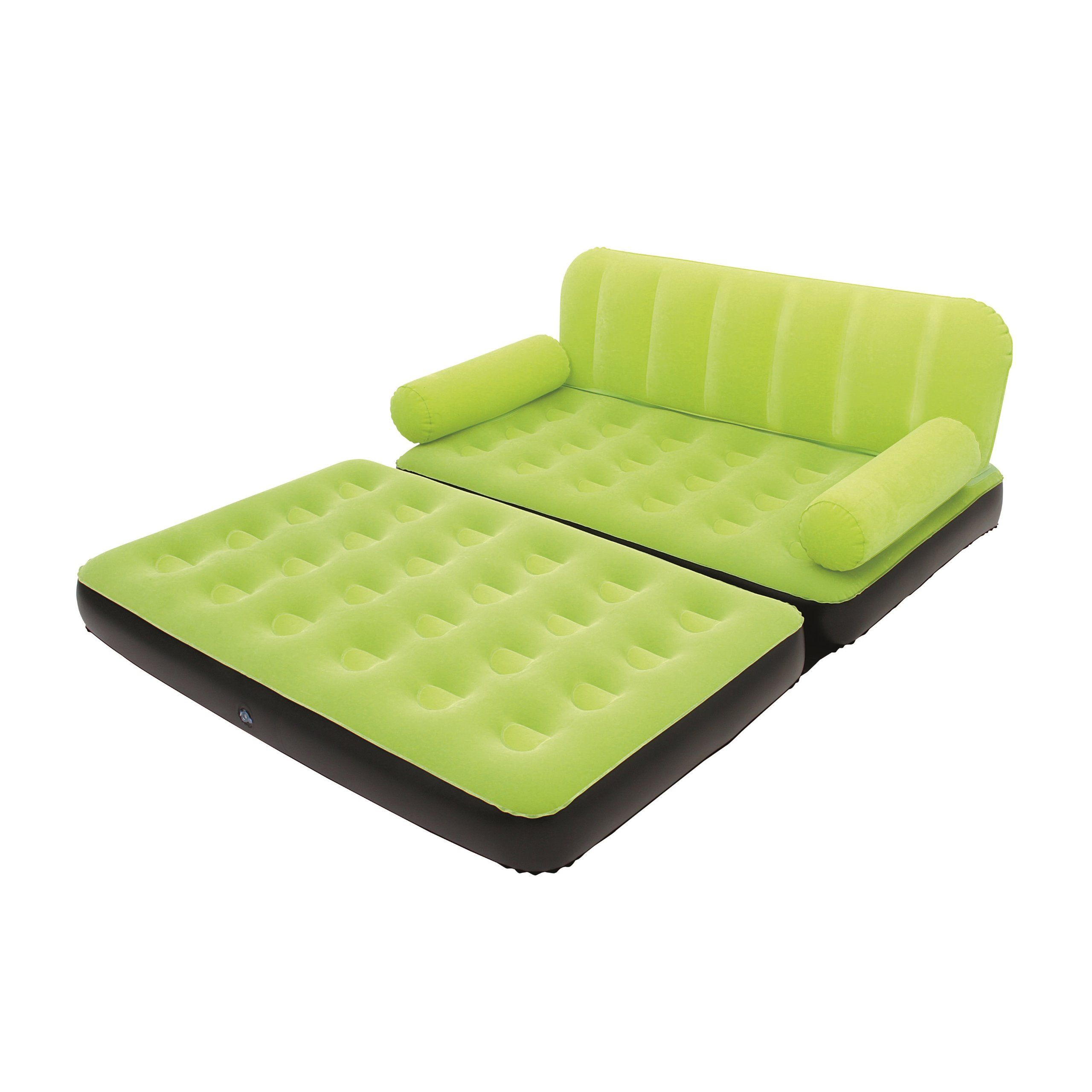 Bestway Multi-Max Inflatable Couch with Air Pump Green  sc 1 st  Pinterest : inflatable sectional couch - Sectionals, Sofas & Couches