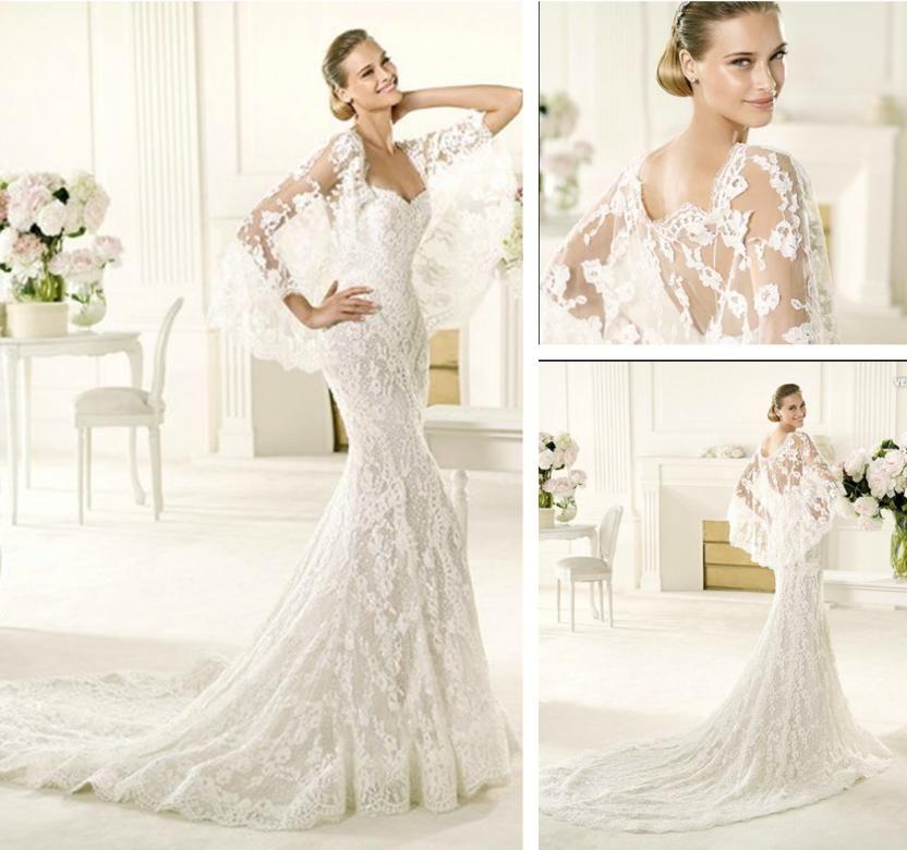 Wedding Dresses Long Sleeve Lace Dress 2017 Dream A Little Of Me
