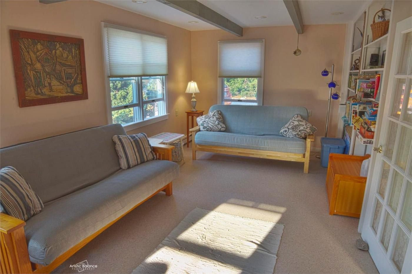 Expand your sleeping with our double bed futon couches. Dennis, Cape Cod vacation rental on WeNeedaVacation.com ID 7745