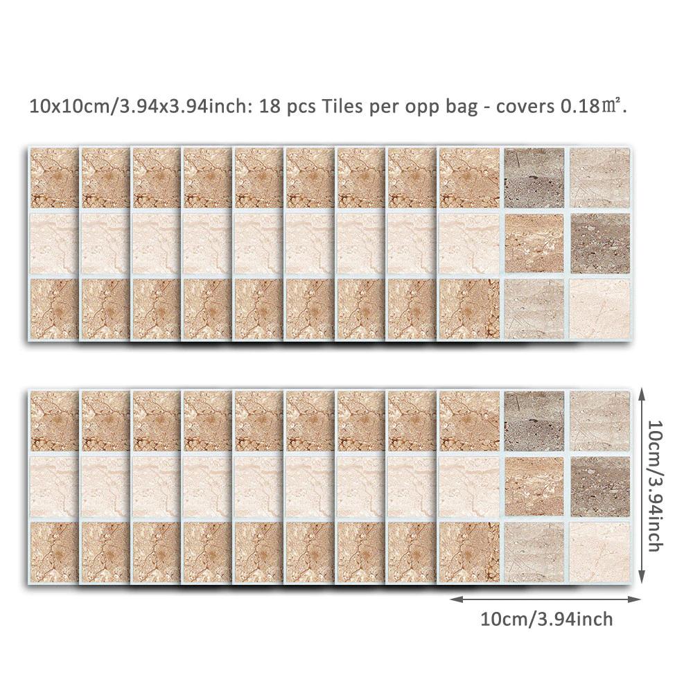 18pcs 10x10cm Self Adhesive Waterproof Black Marble Mosaic Wall Art Kitchen Furniture Tile Sticker Wall Decal Wall Sticker 2019 With Images Wall Stickers Wallpaper Wall Decor Stickers Quotes Wall Stickers Tiles