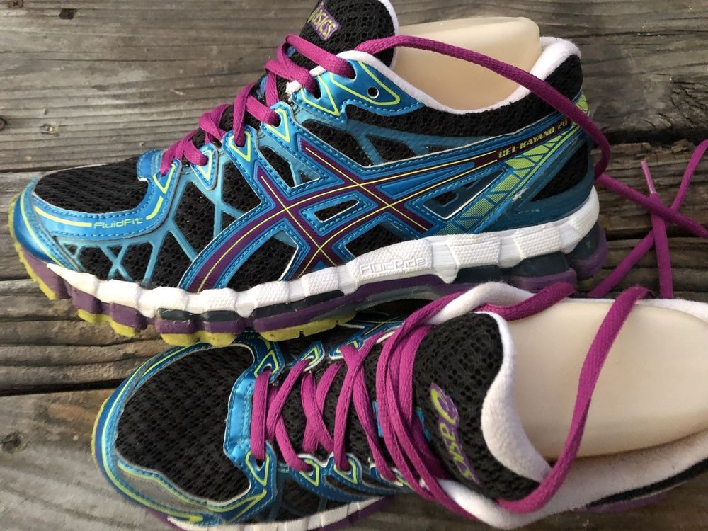 Asics Gel Kayano 19 T392n Dynamic Duomax Blue With Images