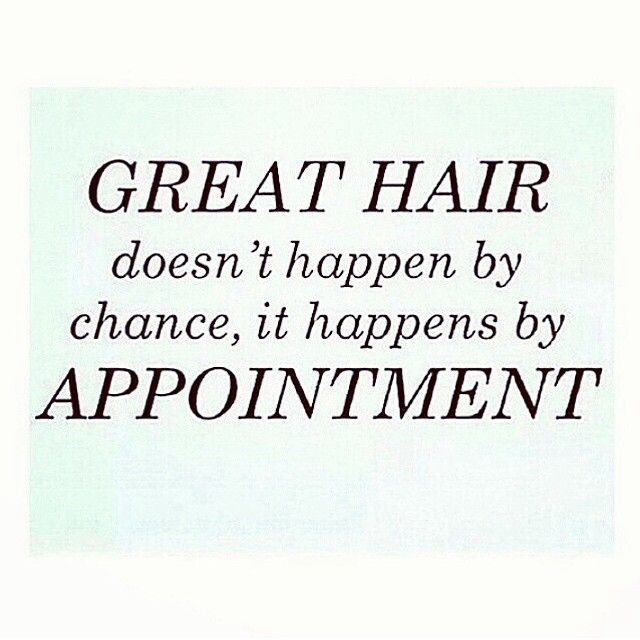 Keep calm and make a hair appointment script font google for Salon quotes of the day