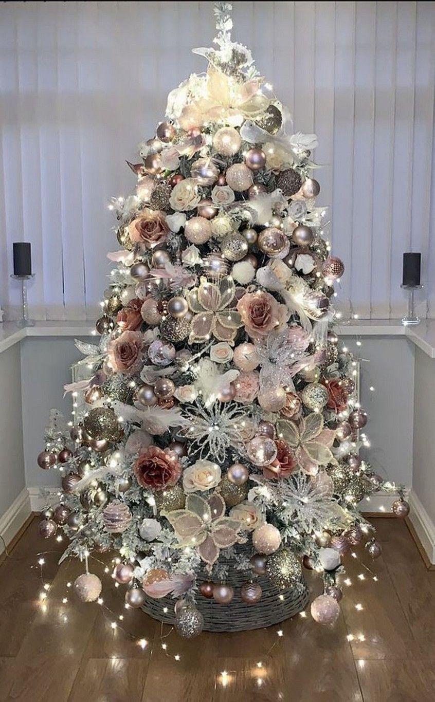 15 Christmas Tree Ideas 2 Rose Gold Christmas Tree Elegant Christmas Trees Cool Christmas Trees