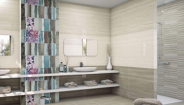 Nuevas ideas para decorar las paredes del ba o azulejos - Decorar el bano ...