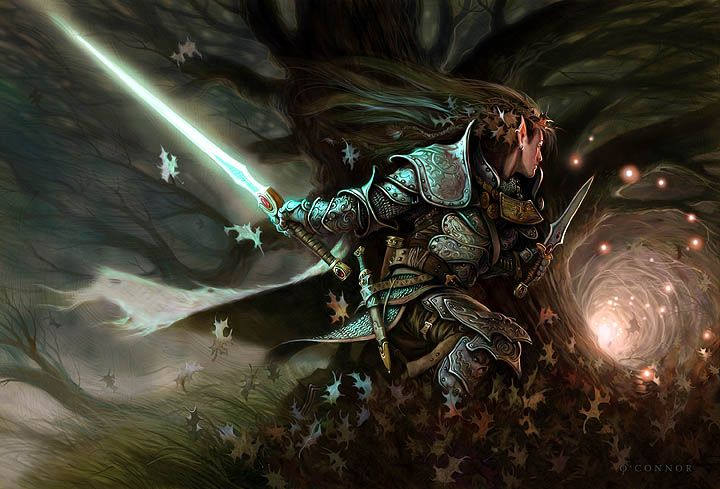 Guerreira Elfa em Ellidoränne