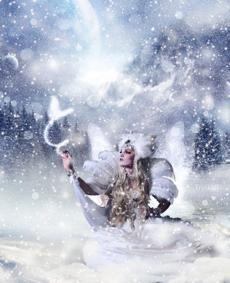 Snow Fairy Tryskell Deviantart Winter