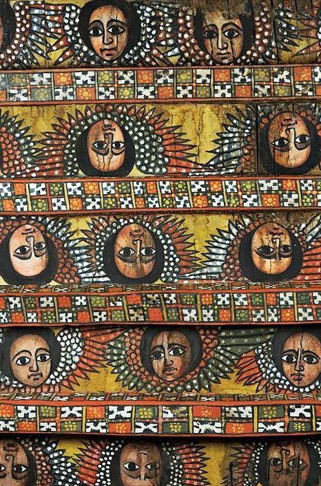 Cherubs Debre Berhan Selassie Church Ethiopia Ethiopia Cherub Culture Art