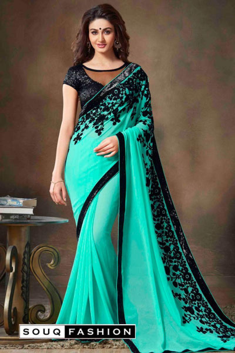 f26e151568 Pure Georgette Designer Saree in Dubai   Georgette Designer Sarees in UAE