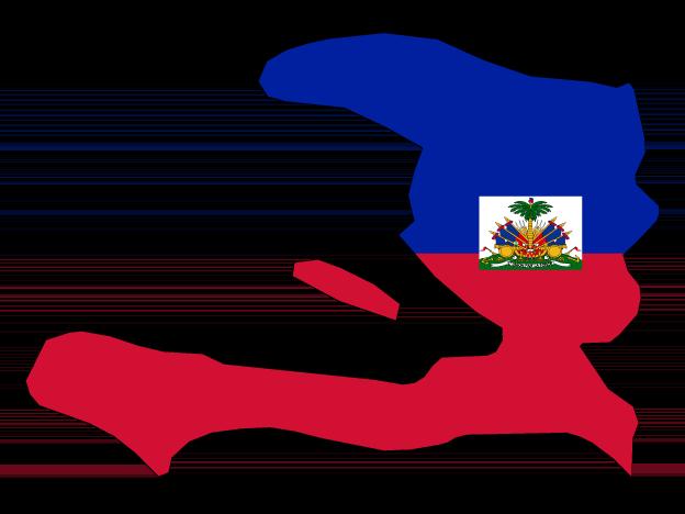 Flag Map Of Haiti Free Vector Maps Map Of Haiti Map Vector Haiti Flag