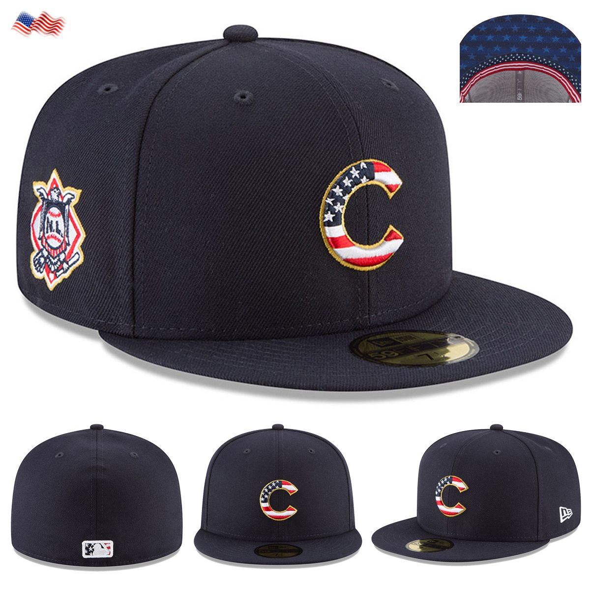 d47007b3 release date chicago cubs fourth of july hat 2fa82 948e8