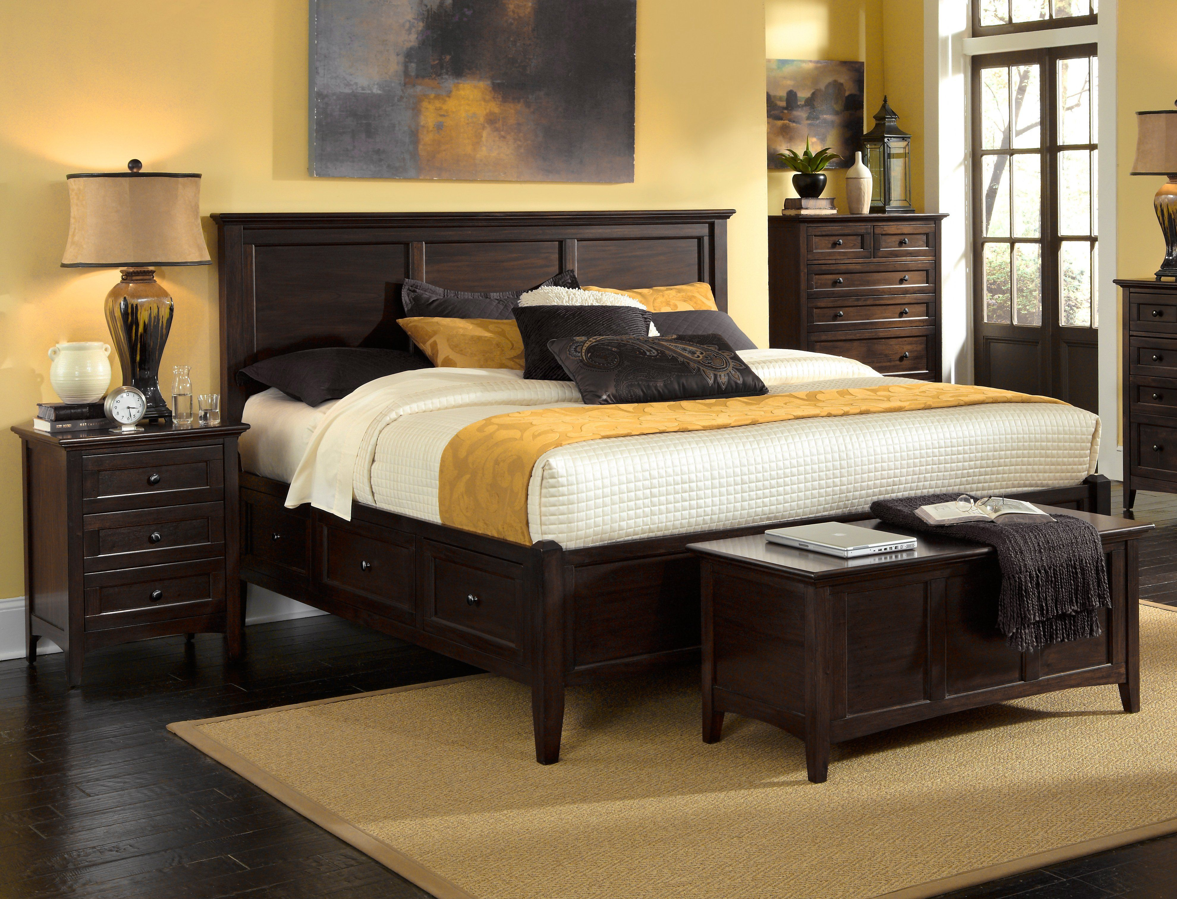 Westlake Storage Bed Bedroom sets, King storage bed