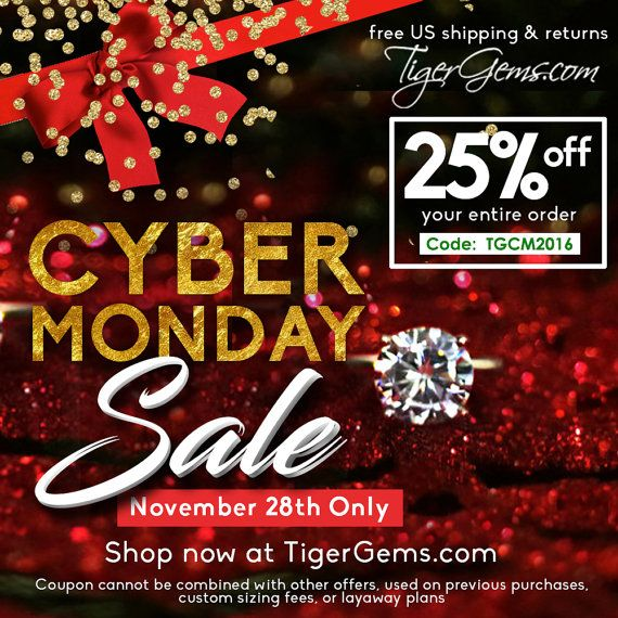 Last Chance to SAVE 25% off your entire order at TigerGems.com