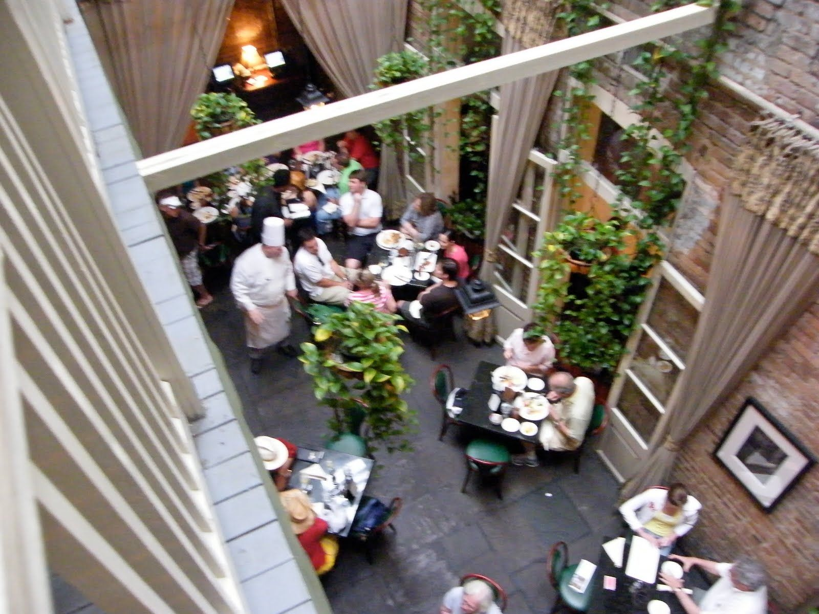 Attirant Murielu0027s Jackson Square, New Orleans   Enclosed Courtyard Dining. My  Favorite Haunted Restaurant In