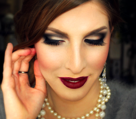 This 1920 S Inspired Makeup Tutorial Will Definitely Make You All Dolled Up And Glamorous Gatsby Makeup 1920s Inspired Makeup 1920s Makeup