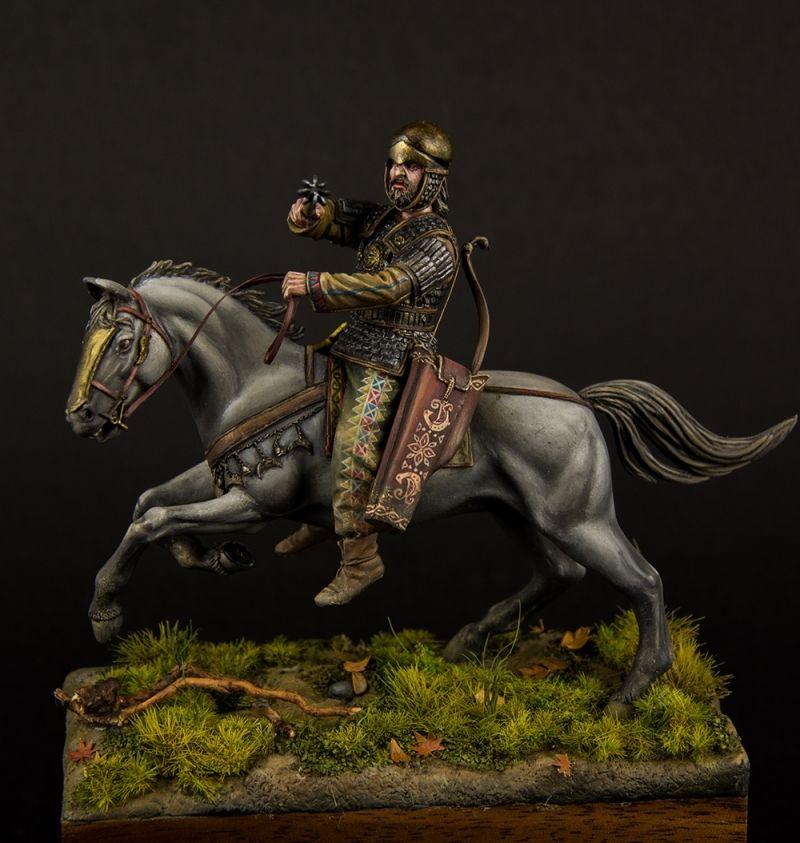 Scythian noble warrior IV cent. B.C.
