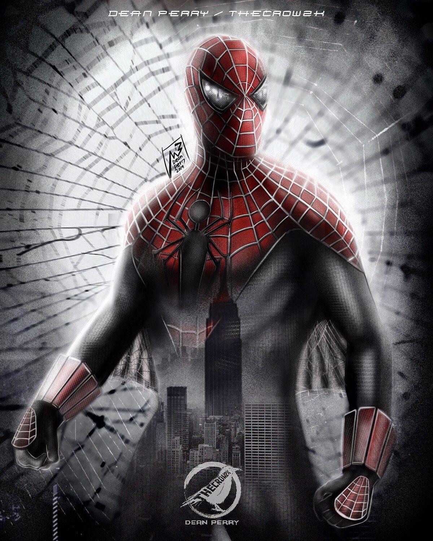 Spider Man Raimi Ross Costume Thecrow2k Spiderman New Spiderman Movie Spiderman 2002
