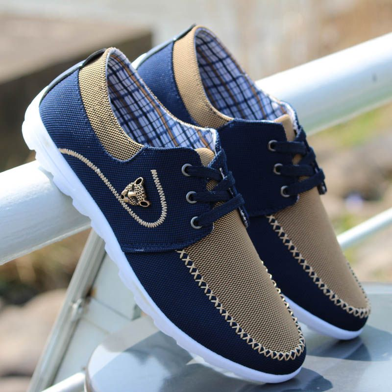 separation shoes d49b4 f1b8c 2014 Spring men shoes fashion trend canvas shoes male casual shoes mens low  board shoes male autumn Flat Breathable Sneakers span ...