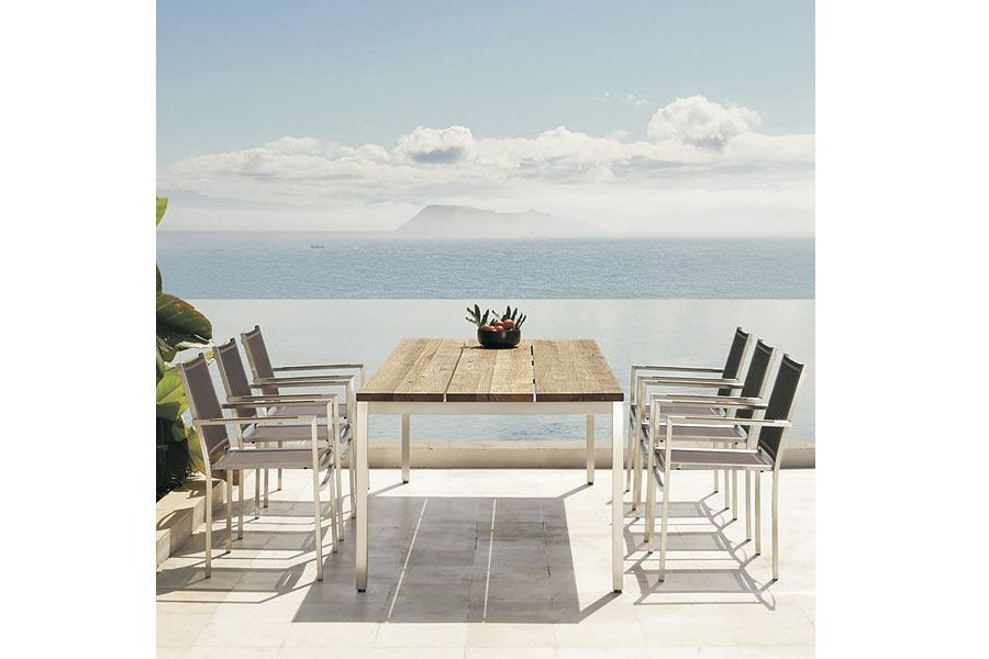 Mamagreen Sparta Dining Table (With images)   Teak dining ... on Sparta Outdoor Living id=85858