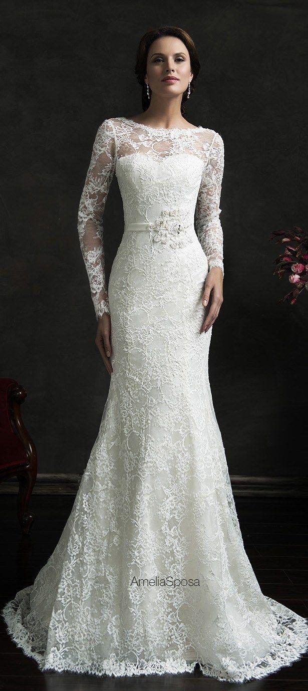 Nice dresses for wedding  vestidosdenoiva  Weddings  Pinterest  Amelia sposa Amelia and