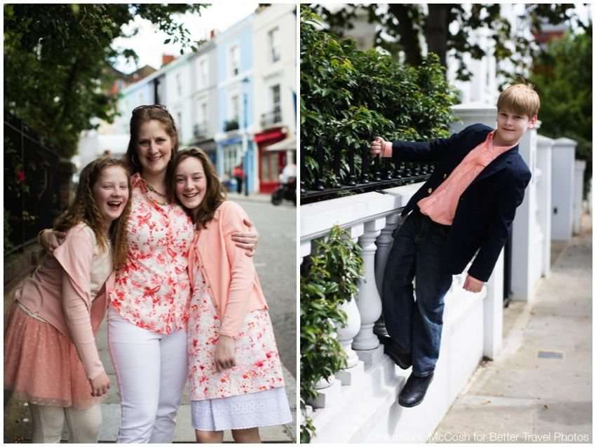 Family portrait session in London 2