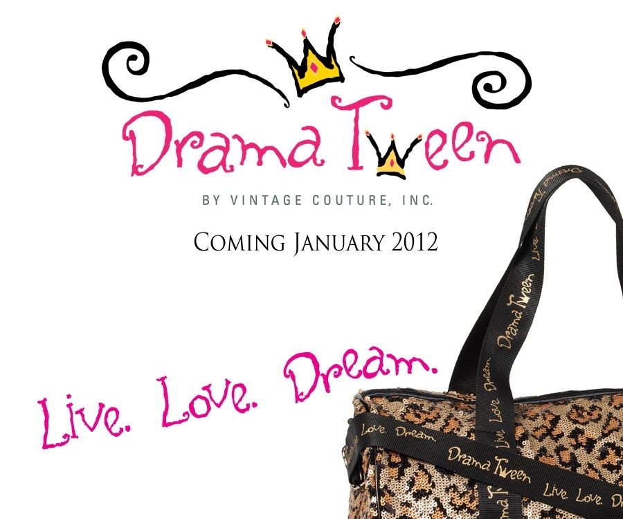 Your Drama Tween is sure to love this leopard duffel bag!!