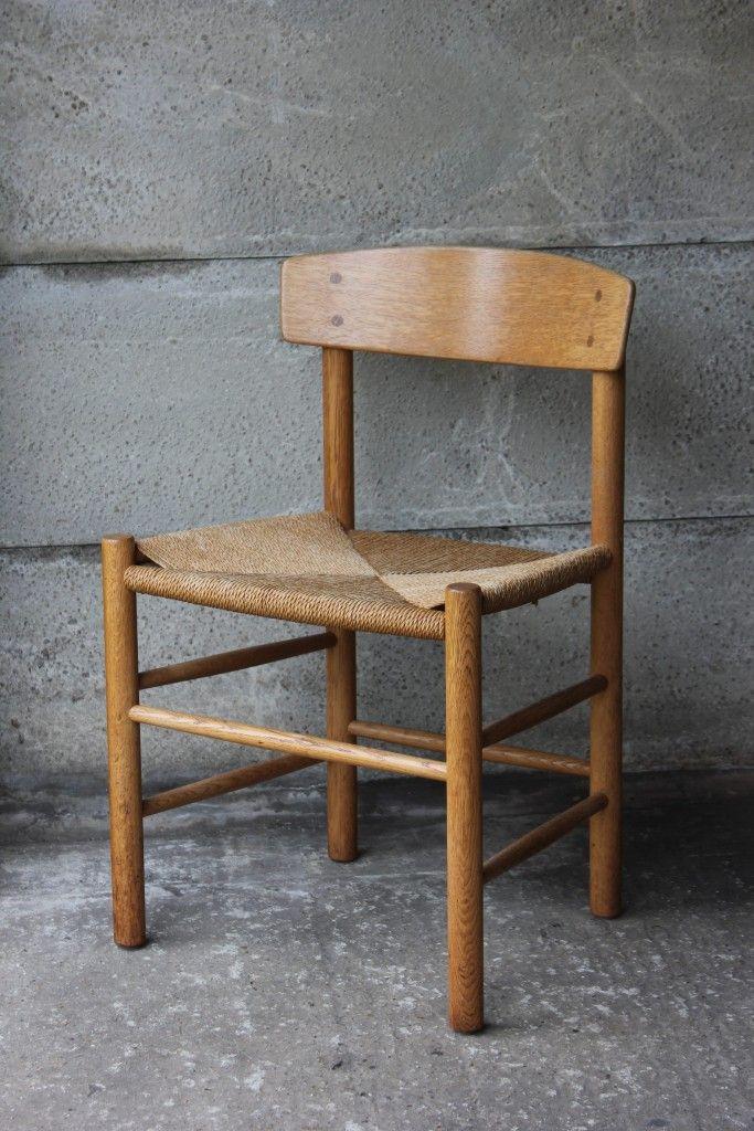 4 x chair J39, Børge Mogensen, FDB, Denmark, 1947