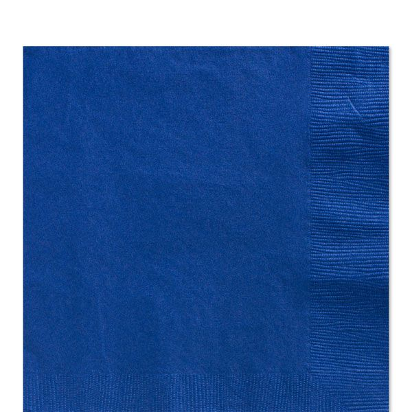 Royal Blue Luncheon Napkins - 2ply Paper£7.49125pk