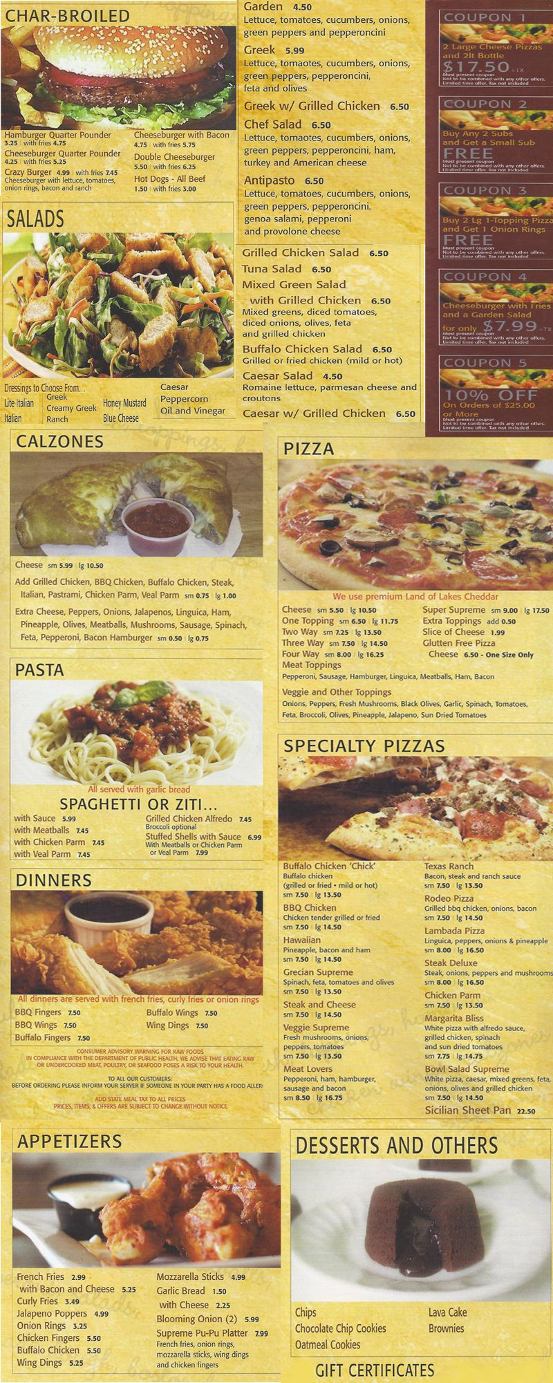 Supreme Pizza 1284S Main Street Brockton MA,02301 508-857-2767 ...