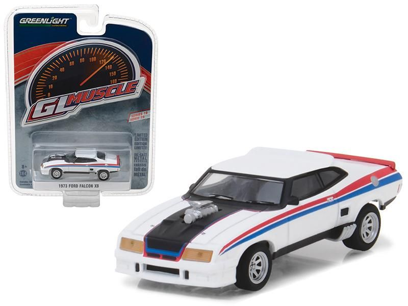 1973 Ford Falcon XB  White *** Greenlight Muscle 1:64 OVP