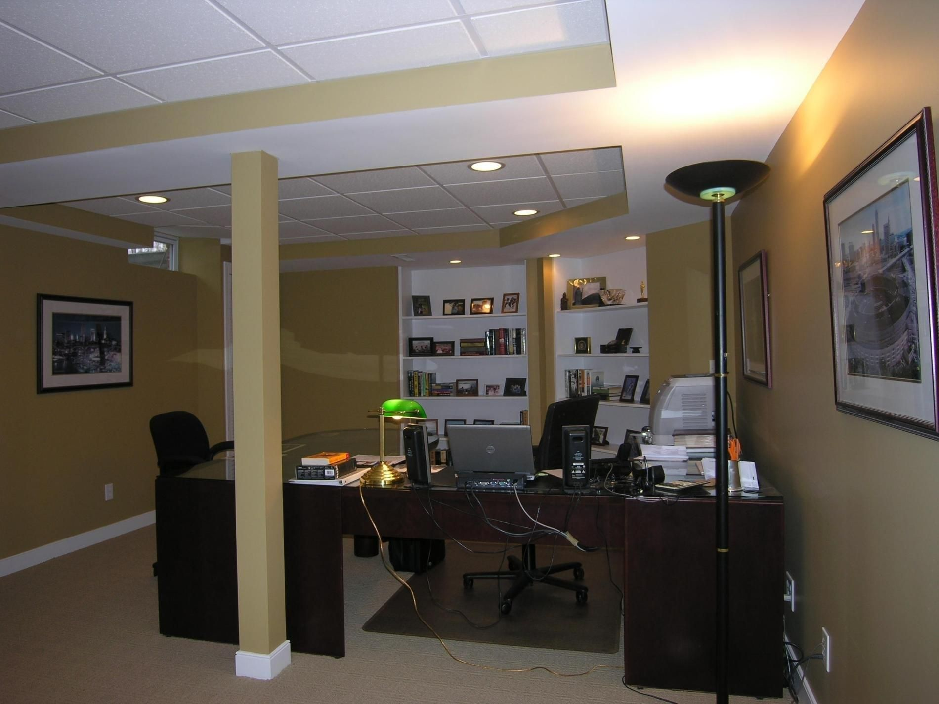 Basement Office Ideas Basement Office Modern Basement