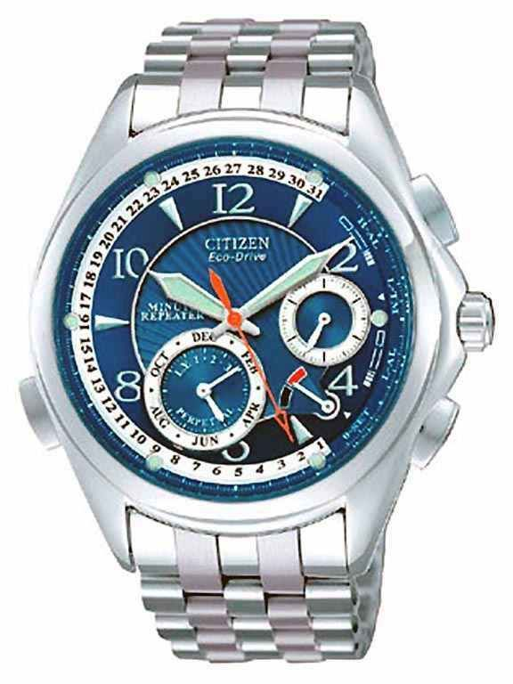 152790f9998 Citizen Eco-Drive BL9009-54M Men Watch Blue Minute Repeater Stainless Steel   CitizenEcoDrive  LuxurySportStyles