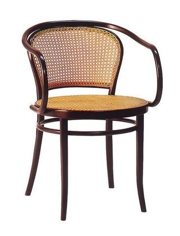 August Thonet B9 Bentwood Chair Style 33 Upholstered Seat