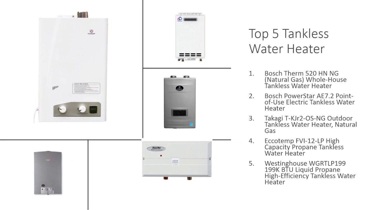 Bosch Therm 520 Vs Bosch Powerstar Ae7 2 Vs Takagi Vs Eccotemp Vs Westinghouse Tankless Water Heater