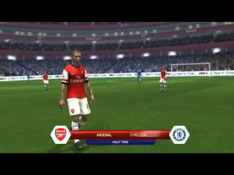 Arsenal vs Chelsea F A  Cup (Fifa 14) - YouTube | Gameplay