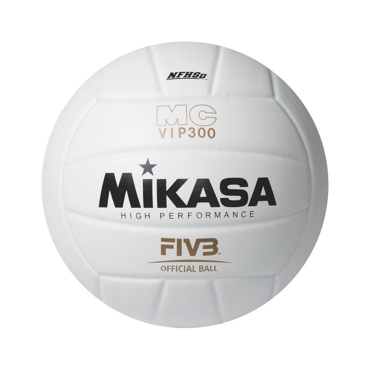 Mikasa Vfc200 Full Grain Leather Volleyball Official Size Usva Nfhs Approved Volleyball Regulation Size And Weig Indoor Volleyball Volleyball Volleyballs
