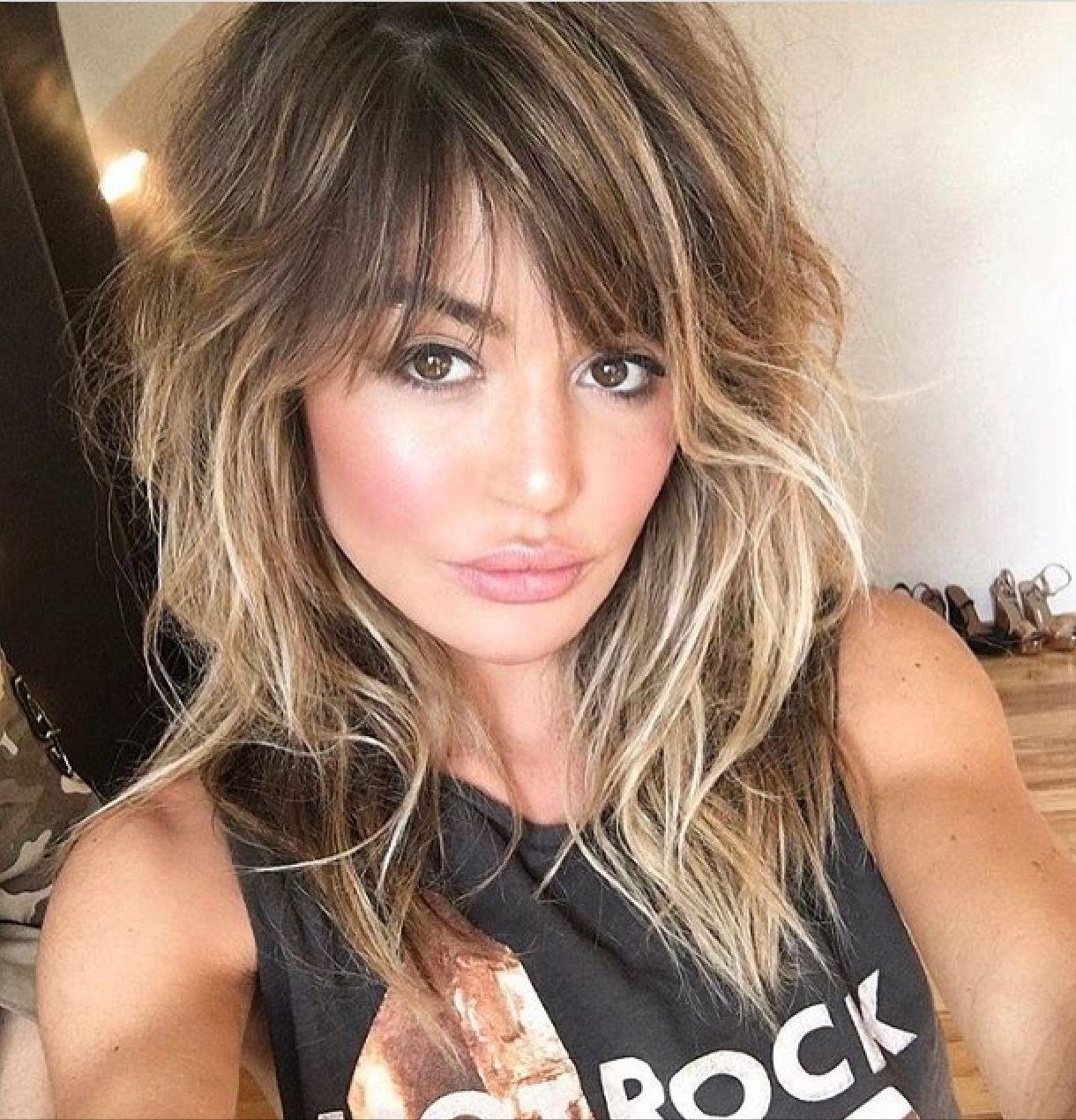 Resultado De Imagen Para Peinadoslisos Con Pelo Sintetico Hair Styles Brown Hair With Blonde Highlights Medium Hair Styles