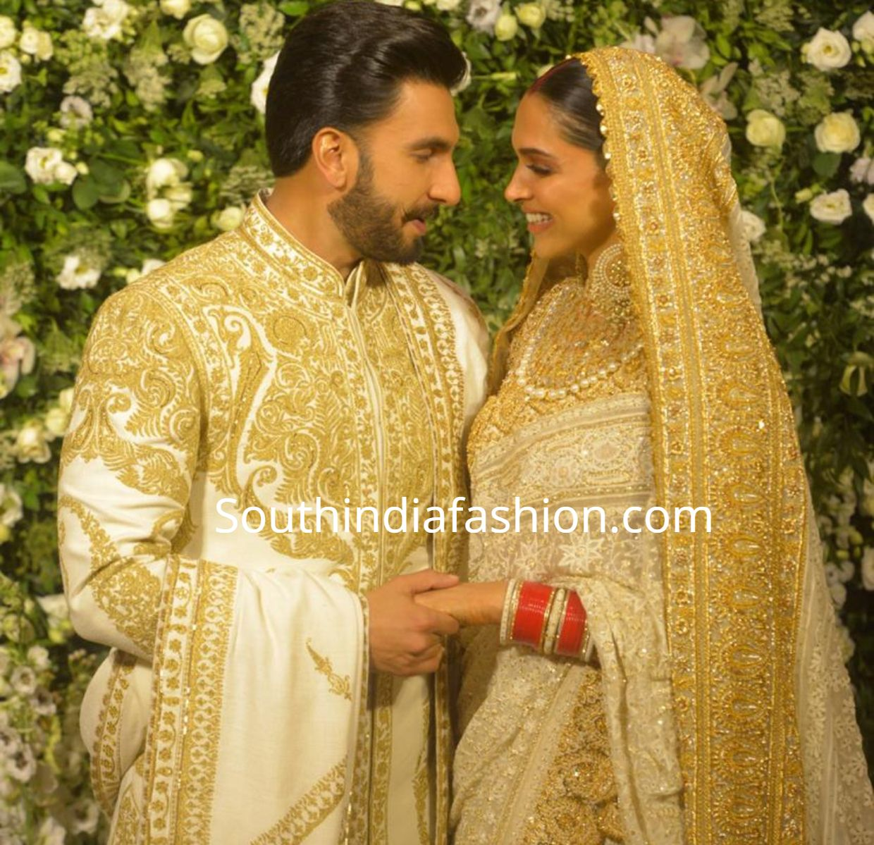 Deepika and Ranveer at their Wedding Reception in Mumbai ...