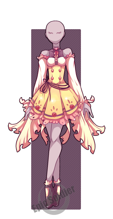 Costume Adoptable 16 Closed Art Clothes Fantasy Clothing Anime Outfits