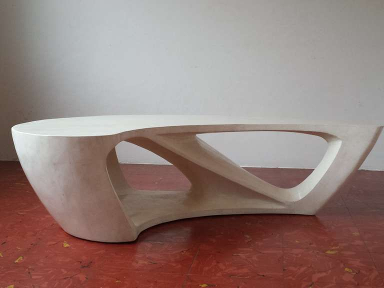Superb 1970s Boomerang Organic Shaped Coffee Table From A Unique Collection Of Antique And Modern