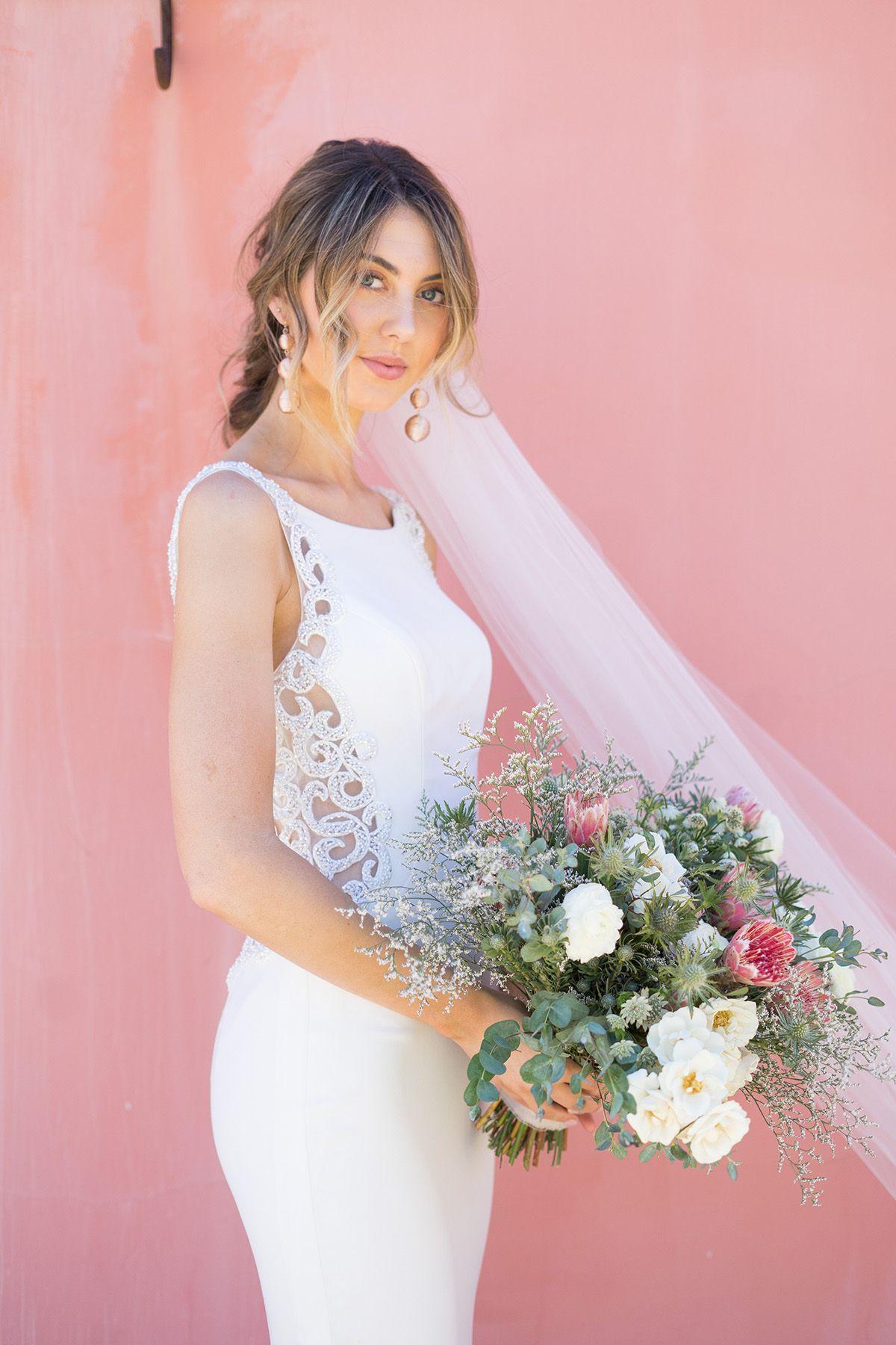 Galina signature wedding dress  A modern showstopper Galina Signature  Beaded Illusion and Crepe