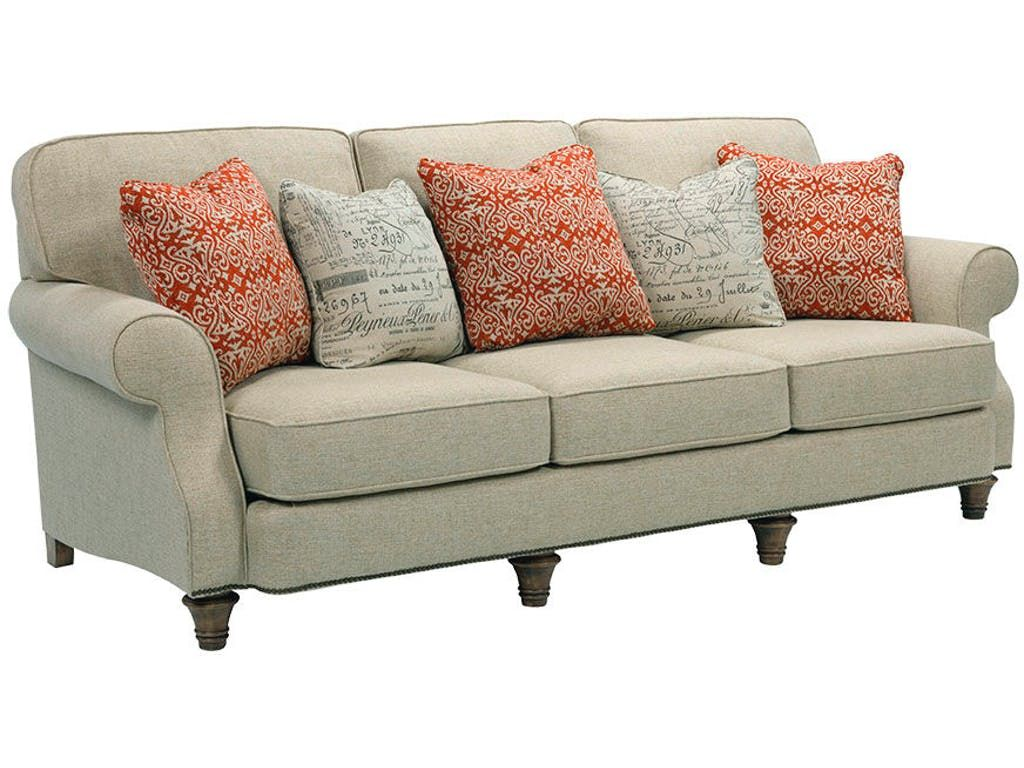 Broyhill Living Room Whitfield Sofa 3666 3   Carol House Furniture    Maryland Heights And