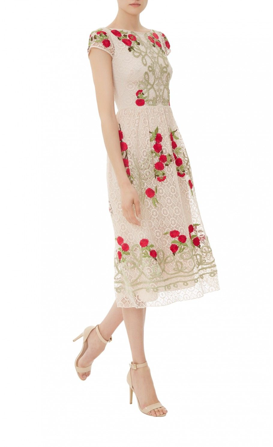 Antila dress midilength dress temperley london with exuberant