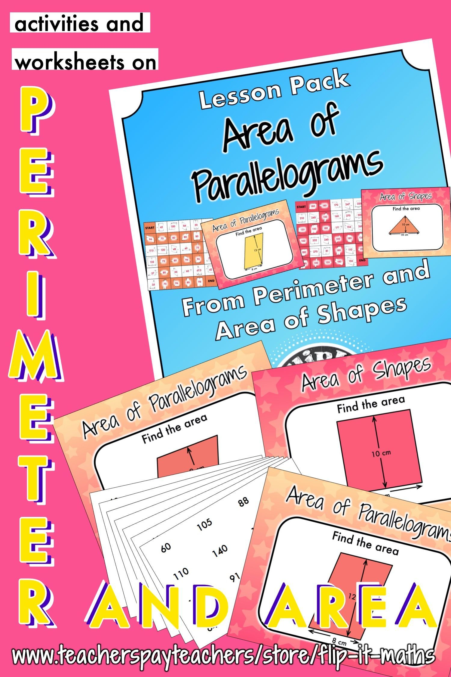 Area Of Parallelograms In