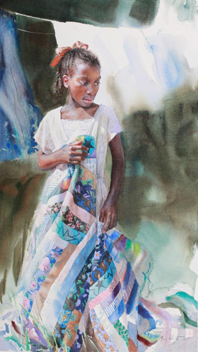 Watercolor books by mary whyte - Afar By Mary Whyte American Watercolor Artist