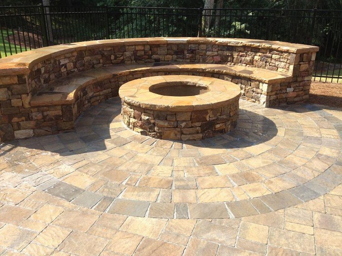 Belgard Flagstone Pavers Circle Paver Patio Designs Belgard Paver Paver Patio Patio Pavers Design Outdoor Patio Set