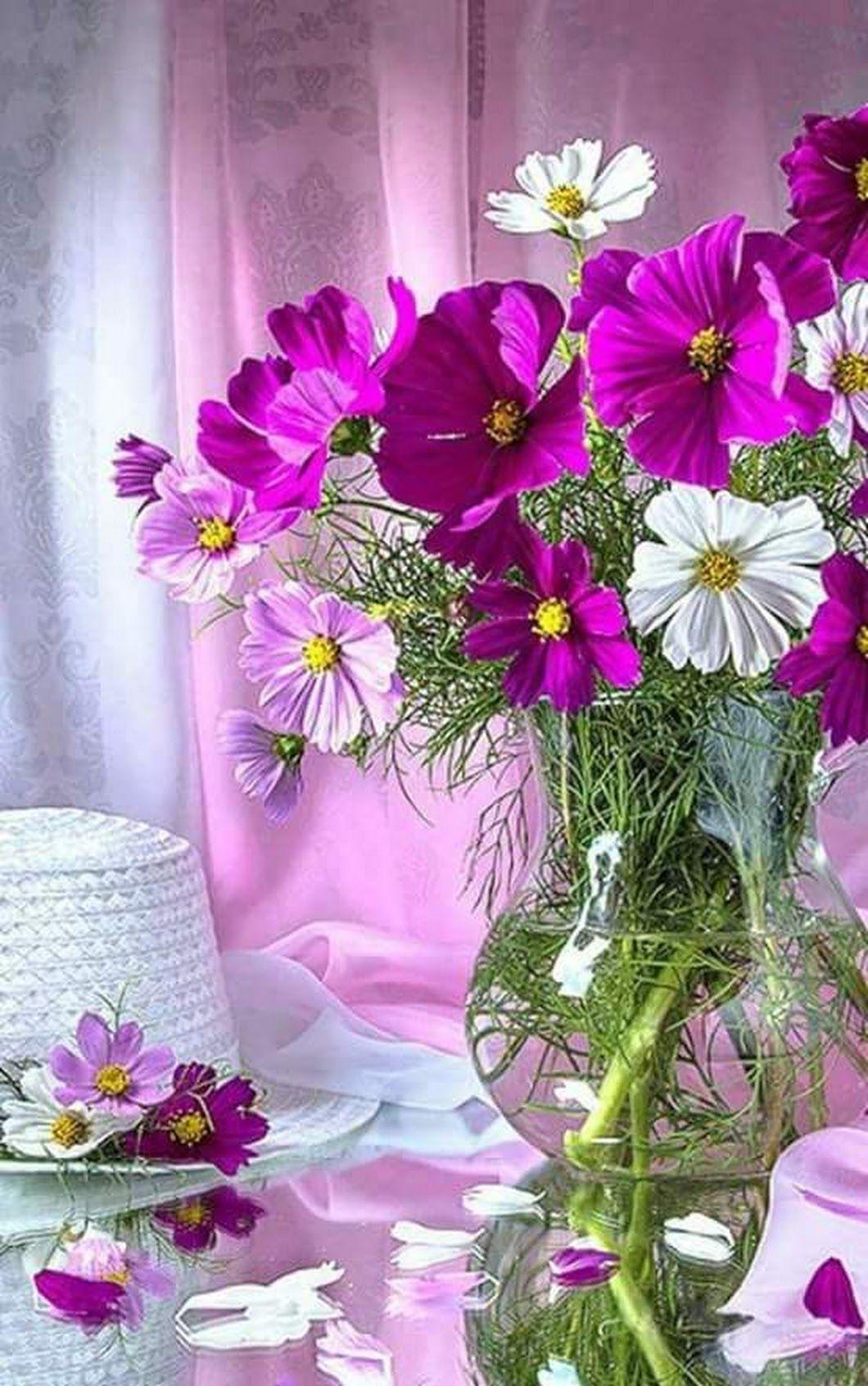 Композиции цветов картинки новые доброе утро